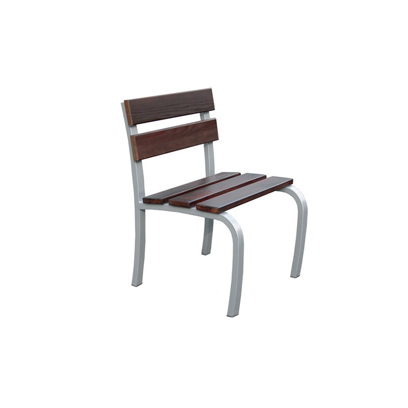 FAUTEUIL CONFIDENCE RAL 7012 GRIS SIDERAL