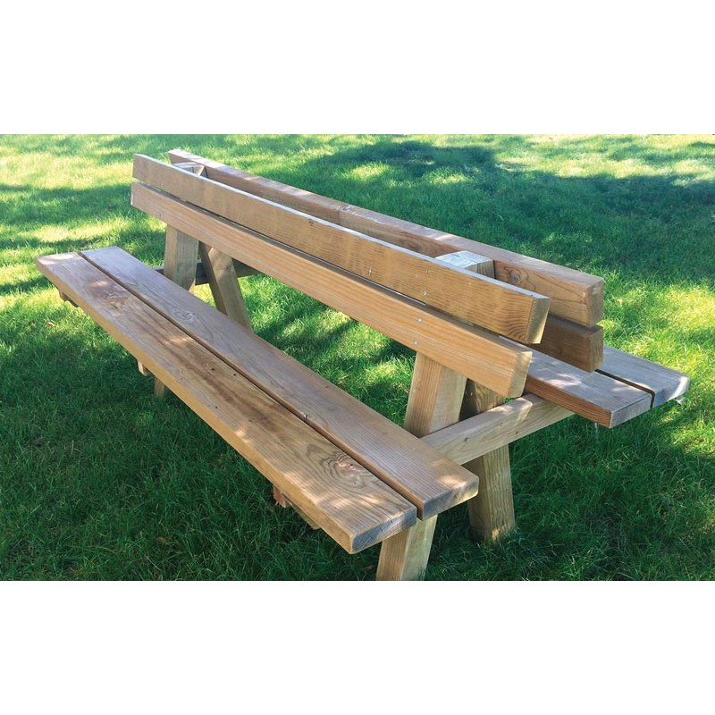BANC DOUBLE PINEDE