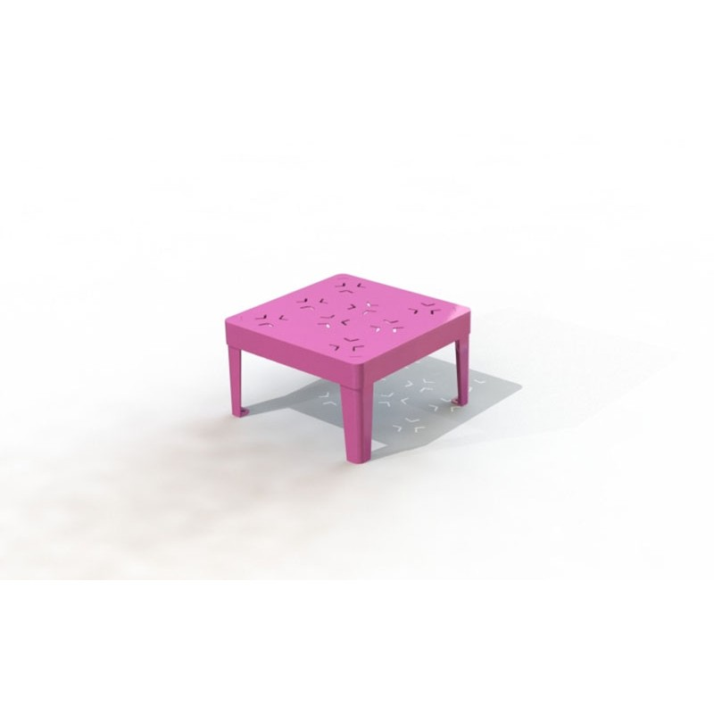 TABOURET COLOR CARRÉE MATERNELLE