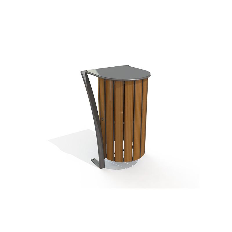 CORBEILLE LAGO RONDE COMPACT STRATIFIE HPL