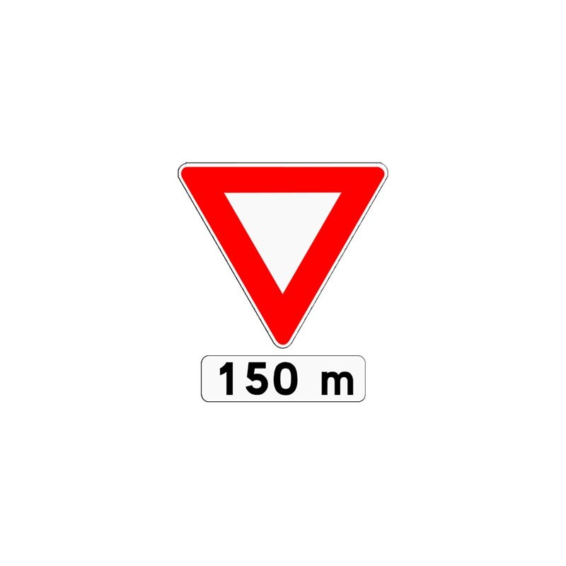 PANNEAU TYPE AB3b - 150 m