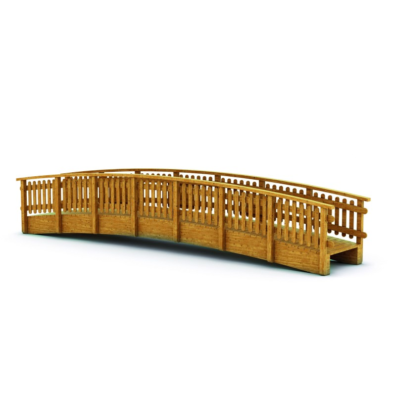 PASSERELLE CINTREE  9000 mm