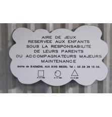 PANNEAU INFORMATION MULTI-TRANCHE D'AGE NUAGE