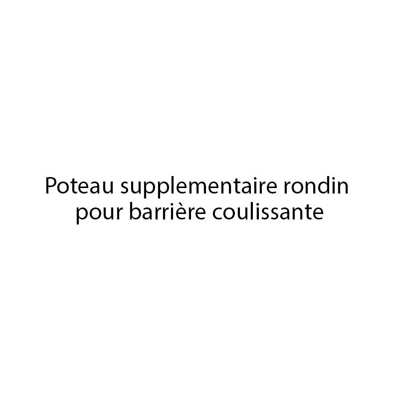POTEAU SUPPLEMENTAIRE BARRIERE COULISSANTE