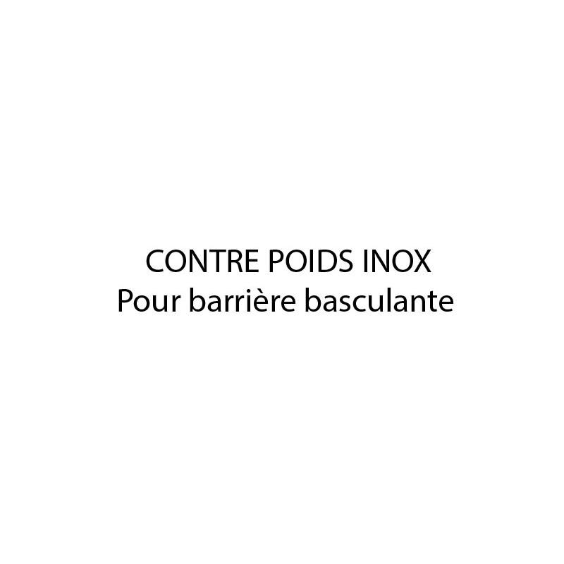 CONTREPOIDS EN INOX