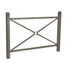 BARRIERE LANO DROITE 1500 mm RAL GRIS PROCITY