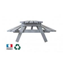 TABLE DE PIQUE NIQUE PLASTIQUE RECYCLE